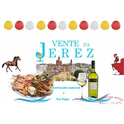 Mariscada ¡Vénte pa Jerez!