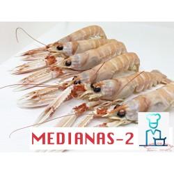 CIGALAS MEDIANAS 2 COCIDAS
