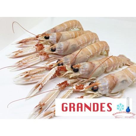 CIGALAS  GRANDES CRUDAS CONGELADAS